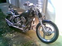 2001 Custom Soft Tail, low miles, new tires, Chrome