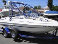 GREAT WAKE BOARDING BOAT!Big features,compact