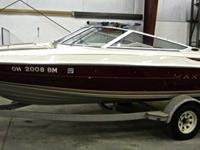 Like New Excellent Condition - 18? Maxum 1800 SR Boat,
