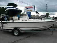 2005 Mako 171 This 2005 Mako 171 Center Console is in