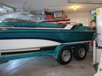 1996, 21? Essex Sterling open bow. 7.4 Mercruiser with