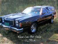 Restored 1977 FORD RANCHERO, 351ci port & polished