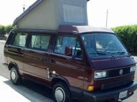 1990 Volkswagen Vanagon Westfalia camper with 159k