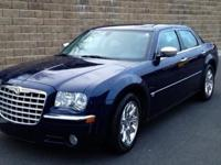 THIS GORGEOUS MIDNIGHT BLUE CHRYSLER 300C RWD 5.7L