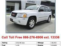 CLEAN AND AFFORDABLE 2005 GMC ENVOY SLT EDITION SUV.