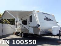 Super clean travel trailer, ac/heat, sleeps seven, AM/