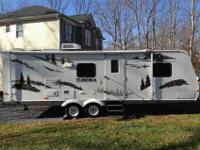 THIS IS A SUPER NICE 2006 TUNDRA 30' CAMPER TRAILER.