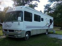 1999 34' Class A motor-home20 thousand actual