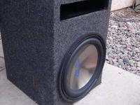 "For sale is a 12"" Alpine Sub. Works perfect and comes"