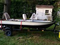 12' Fishing Boat includes Trailer and ExtrasNewly