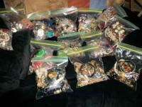I have 12 bags of mics. jewelry some good some needs