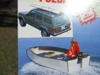 FOR SALE:  A 12' Porta-Bote folding fishing