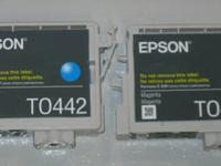 Epson printer T0443 and T0442 Ink Cartridge Epson T0443