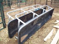 Several 12foot cattle feed bunks. $75 to $125 depending