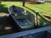 small lightwieght fishing boat,  great for two