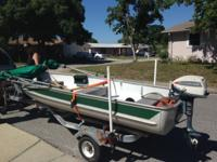 This is an amazing little Boat! Comes with a new Bimini