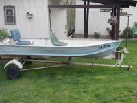 12-foot boat & trailer - $500 OBO - Has not been used