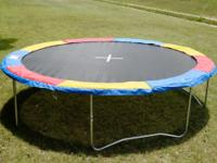 Trampoline safety pad ensures that you, and your family