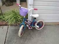 "Nice little 12"" girls bike. Great shape. Call or text @"