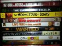 I have 12 DVDs for sale they must all go together! Some