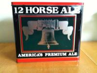 Classic 12 Horse Ale from Genesee Beer Tin - Hold a Six