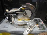 Im selling a nice fully function DeWalt miter saw here