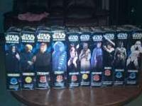I have 10 different 12 inch star wars figures still in
