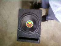 hi i have a memphis 12 inch sub in ported box bumps