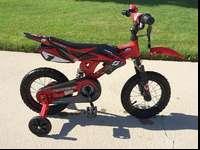 12 inich MotoBike XGames With Training Wheels. The bike