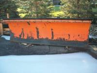 12' Monroe Snow Plow $3,500 OBO  Location: Hartland