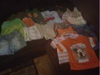 I have18 pieces of 12 month boy clothes for $15. All in