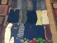38 items all in good condition.  All are 12 months a