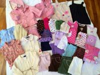 Absolutely adorable lot of 12 month girls clothes.  In