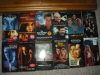 12 MOVIES ON DVD, SEE PICTURE FOR MOVIE TITLES.  ASKING