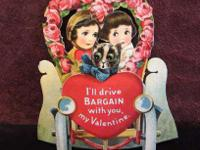 Old-fashioned Valentine?s Day Card (#E7) $12 This is a