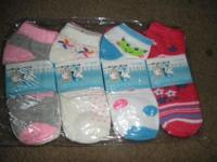 (12) Pair- Pack of Boys or (12)Pair pack Girls Ankle