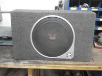 "I have a brand-new 12"" Rockford Fosgate sub in a Q"