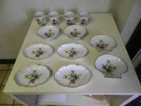 For sale is a lovely 12 set piece of Limoges France