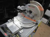 I have a very nice fully function ridgid miter saw here