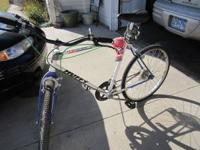 12 speed bike for sale. Hardly ever used. Cash only.