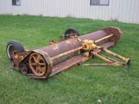 12 foot flail mower/stalk chopper. Not sure of make but