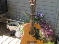 I am selling a 1970's acoustic 12 string guitar in
