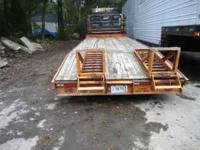 2002 Econoline Equipment trailer. 24,000 GVW Spring