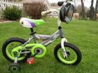 "Boys 12"" bike with training wheels for sale.....could"