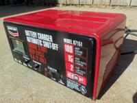 Battery Charger 12-Volt, 2/15 & 100-Amp. Boost - Looks