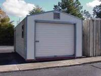 This is a used 12' x 24' storage building that
