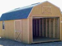 Hello - I Have A 12 x 32 Lofted Garage For Sale. I Will