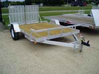 "12' x 82"" Loadmaster Utility Trailer Steel Frame 3500lb"