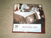 20 piece bedding set bought from Kohls a month and a