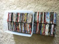 THIS IS AN ENTIRE LOT OF MOVIES FOR SALE. $240.00 FOR